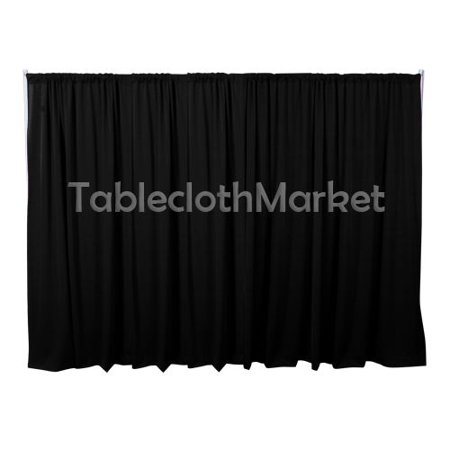 10 x 5 ft Backdrop Background FOR PIPE AND DRAPE DISPLAYS Polyester 24 COLORS