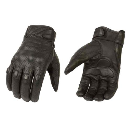 Milwaukee Leather Men's Premium Leather Perforated Cruiser Gloves MG7500 (3XL) - 3X-Large MG7500-3XL