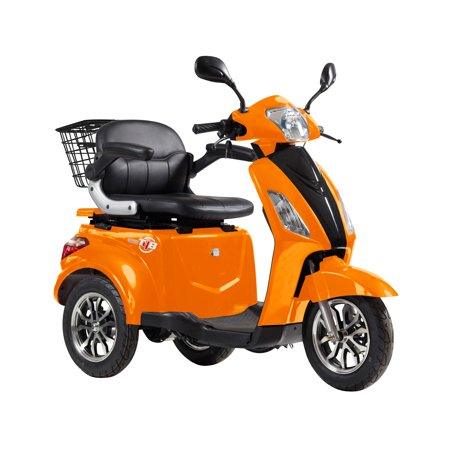 T4B LU-500W Mobility Electric Recreational Outdoors Scooter 48V20AH with Three Speeds, 14/22/32kmph - Orange - image 12 de 14