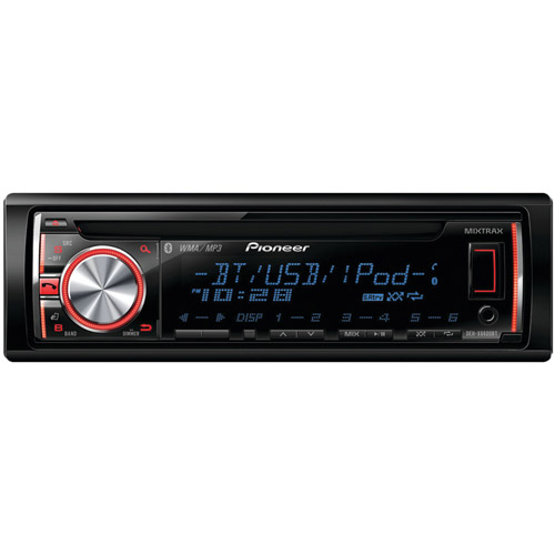 Pioneer DEH-X6600BT CD Player w  Bluetooth Pandora Front USB Aux New DEHX6600BT by Pioneer