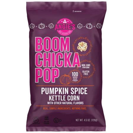 Angies Boom Chika Pop Pumpkin Spice Kettle Corn 45 Oz