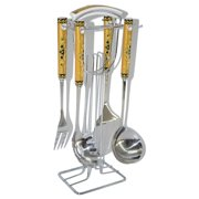 3starimex 4-piece Serving Set with Stand