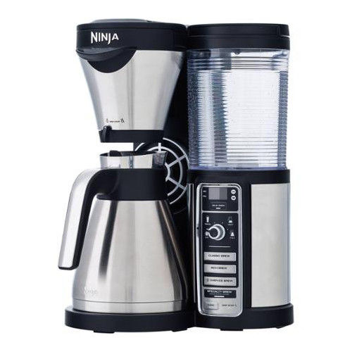 Factory-Reconditioned Ninja CF085REF Coffee Bar w/ Thermal Carafe & Auto-IQ One Touch Intelligence (Refurbished)