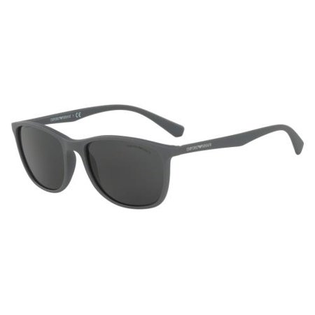 1f0726c401a5 EMPORIO ARMANI Sunglasses EA 4074 550287 Matte Grey 56MM - Walmart.com