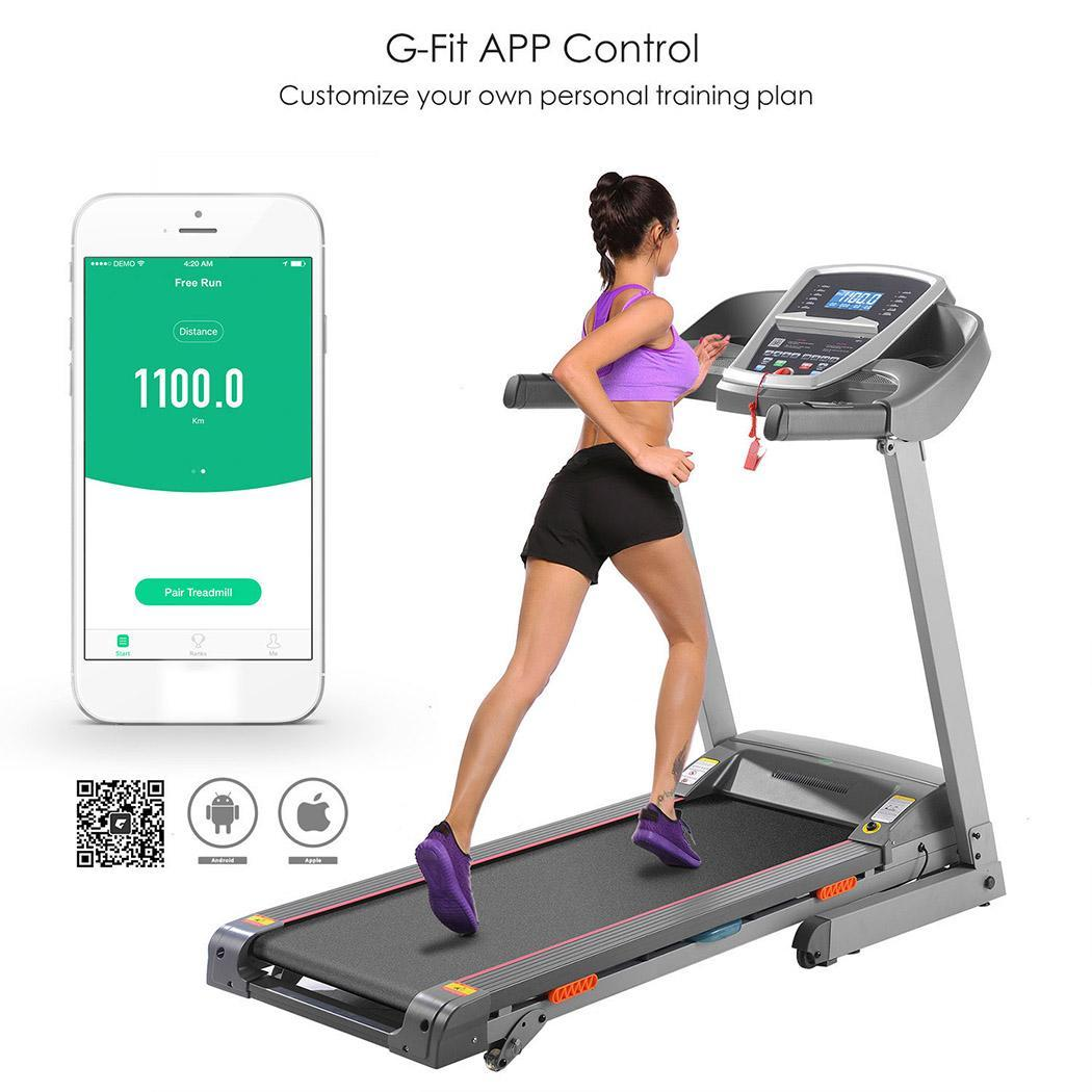 3.0HP APP Bluetooth Control Incline Electric Folding Treadmill  Z900