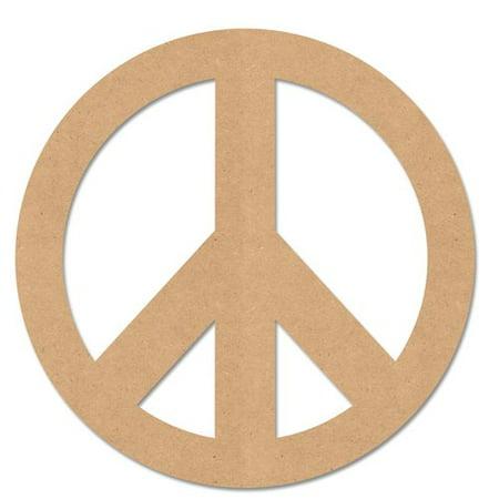 Peace Sign Boots (MPI Wood Peace Sign)
