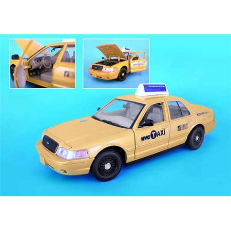 Daron New York City Taxi 1/24 Die-Cast Daron Worldwide Trading Diecast Vehicle