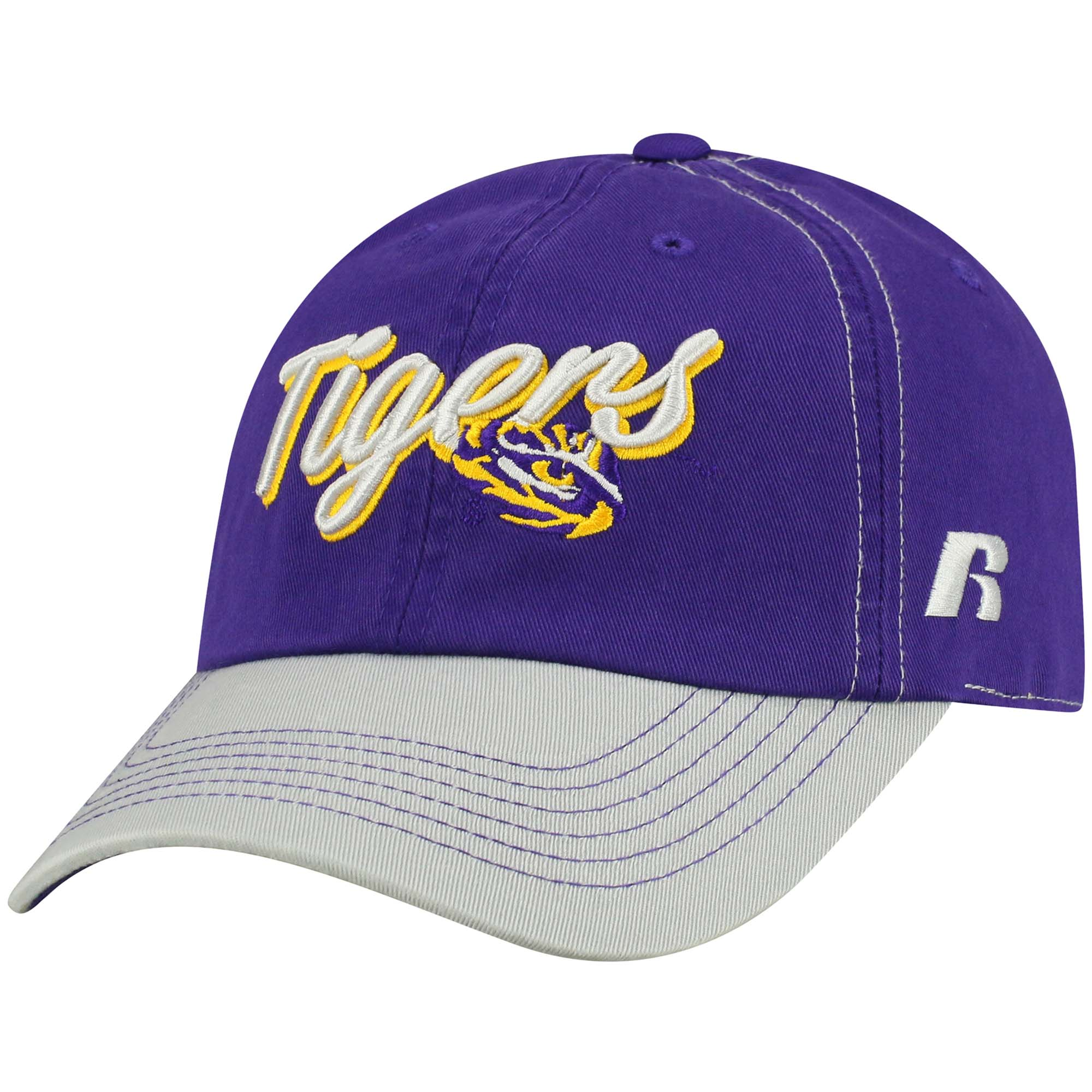 Women's Russell Purple LSU Tigers Sojourn Adjustable Hat - OSFA