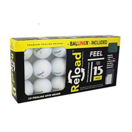 Titleist Golf Balls, Used, Near Mint Quality, 15 Pack ()