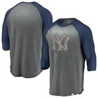 aeb2db4c4cb Product Image New York Yankees Fanatics Branded Cooperstown Collection  Massive Devotees Tri-Blend Raglan 3 4