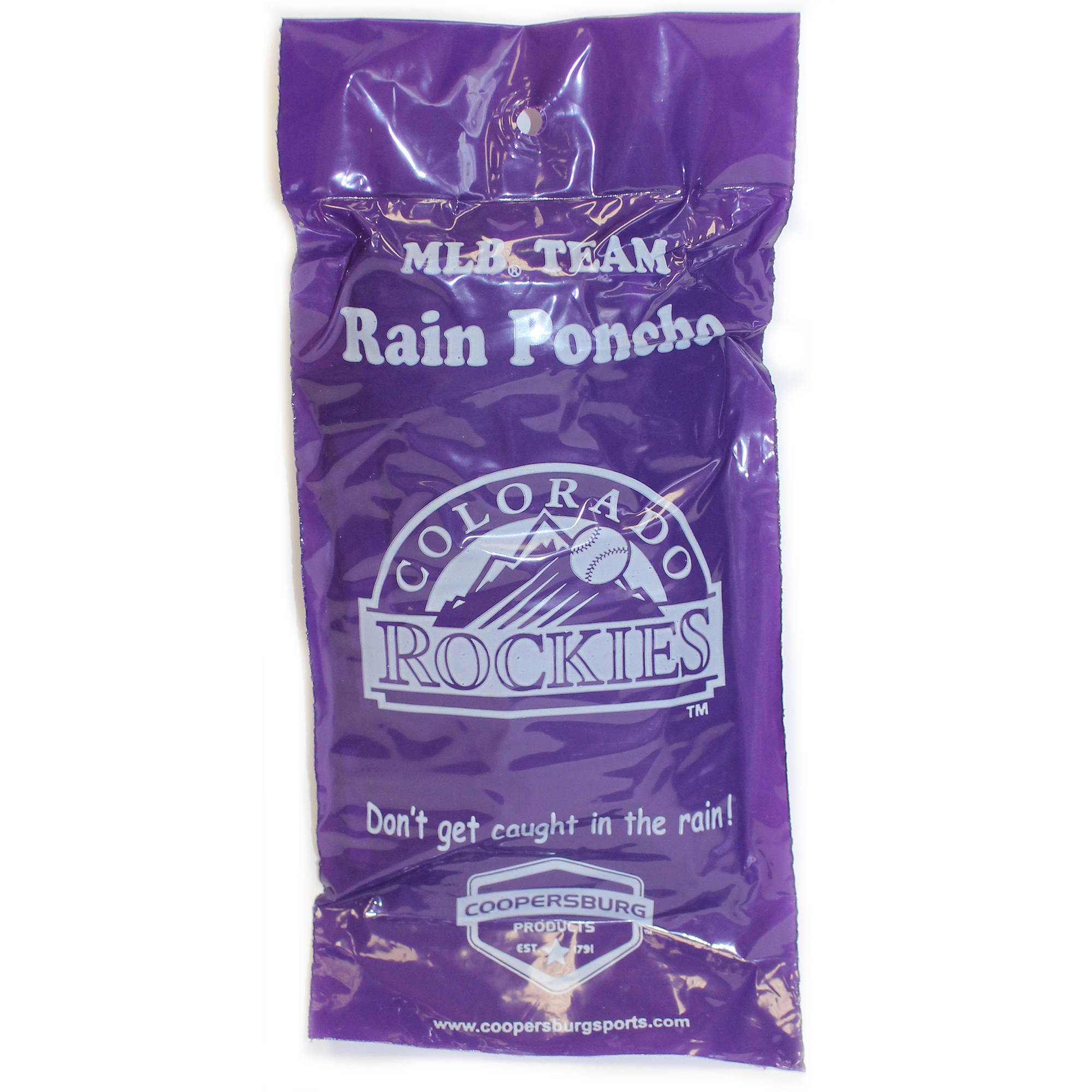 MLB Colorado Rockies Rain Poncho by Generic