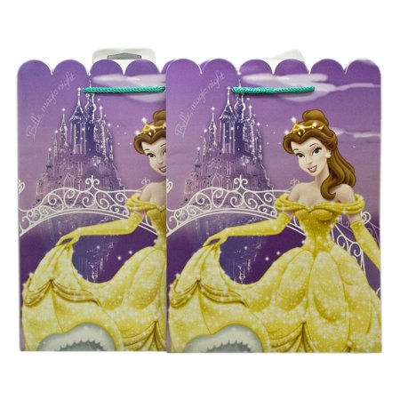 Disney Princess Violet Castle Background Belle Kids Gift Bags (2pc)](Children's Gift Bags)