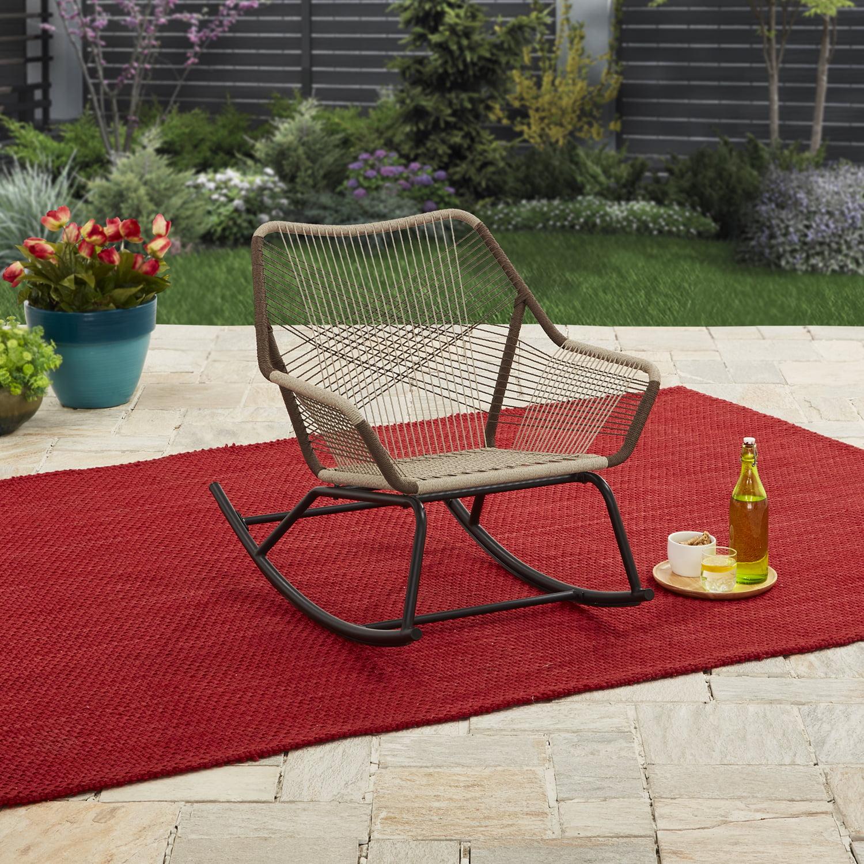 Better Homes & Gardens Satilla Outdoor Rocking Chair