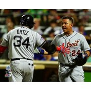 (David Ortiz & Miguel Cabrera 2013 MLB All-Star Game Photo Print)