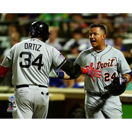 - David Ortiz & Miguel Cabrera 2013 MLB All-Star Game Photo Print