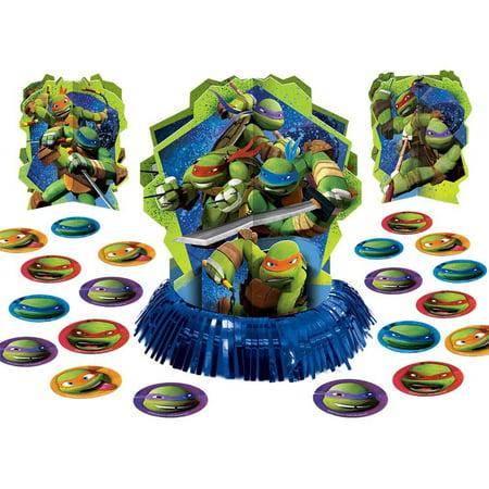 Teenage Mutant Ninja Turtles Party Table Decorations