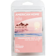 American Home by Yankee Candle Pink Island Sunset, 2.6 oz Fragranced Wax Cubes