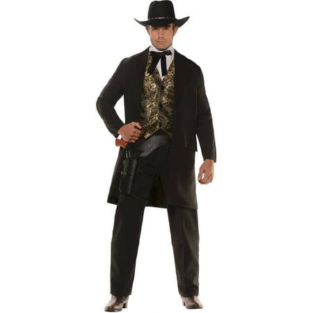 Gambler Men's Adult Halloween Costume (Gambler Costume)