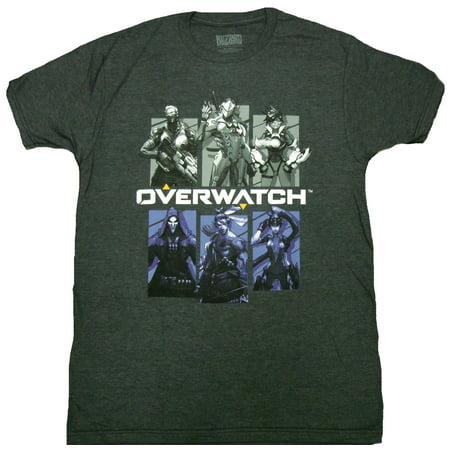 e6138d818 Blizzard - Overwatch Bring Your Friends Adult T-Shirt - Walmart.com