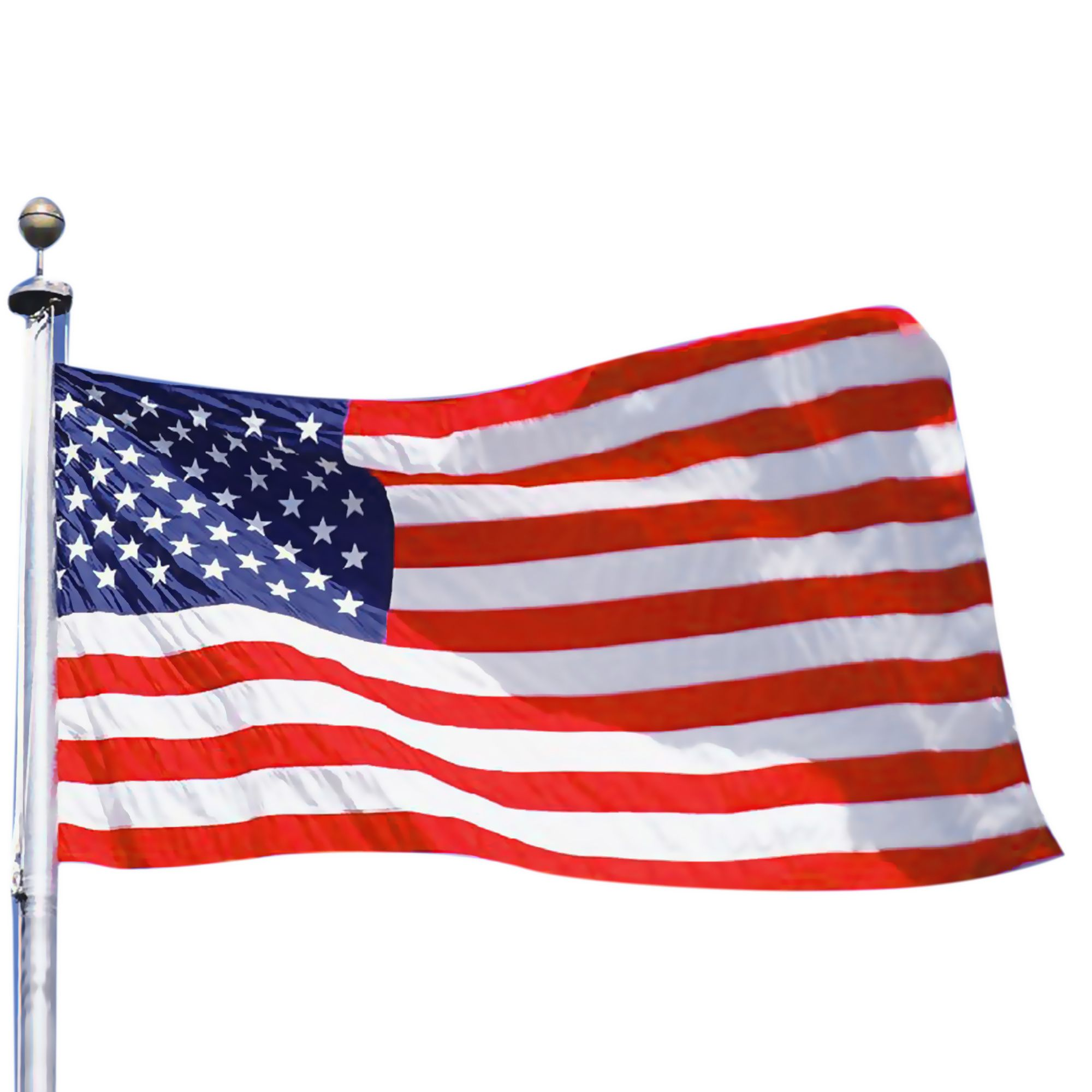 Insten 3' x 5' ft. 3x5 Feet USA US U.S. American Flag Stars Grommets America United States Polyester