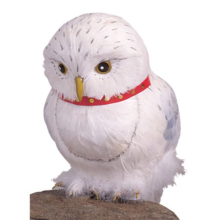 Harry Potter Owl Hedwig Adult Halloween Accessory - Halloween Dessert Ideas For Adults