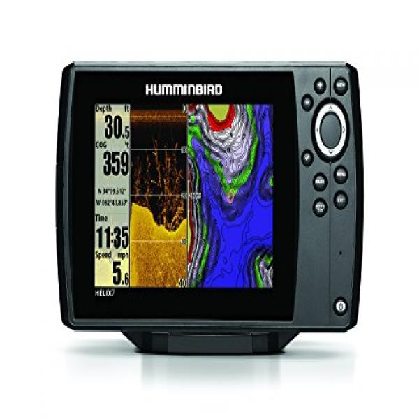 humminbird 409830-1 helix 7 di gps/fishfinder with down imaging, Fish Finder