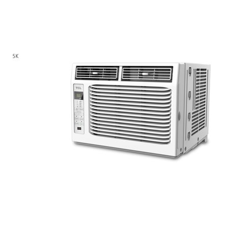 Tcl 5 000 Btu Window Air Conditioner With Remote White