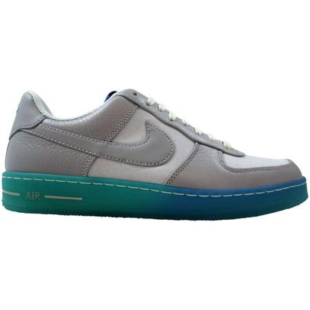 Nike AF1 Downtown BR Wolf Grey/Photo Blue-Pure Platinum 644571-001 Men's Size