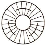 "Native Trails GR914 Stainless Steel 13-1/2"" Round Bottom Grid Sink Rack"