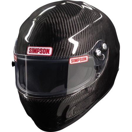 - Simpson Carbon Fiber Devil Ray 683001C Snell SA2015 Auto Racing Helmet Small