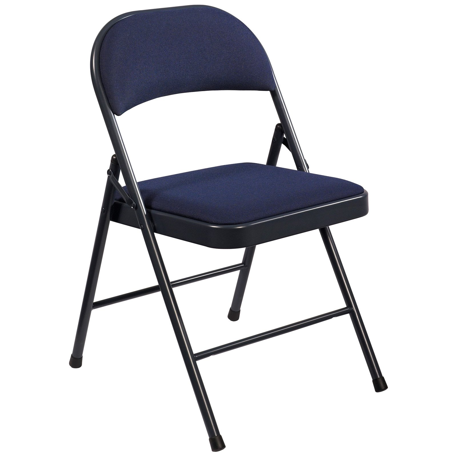 National Public Seating mercialine Padded Fabric Folding Chairs