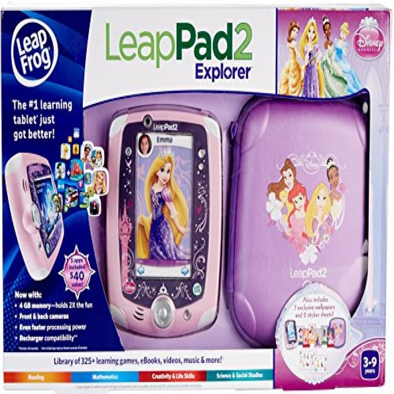 LeapFrog LeapPad 2 Explorer Disney Princess Bundle (Manuf...