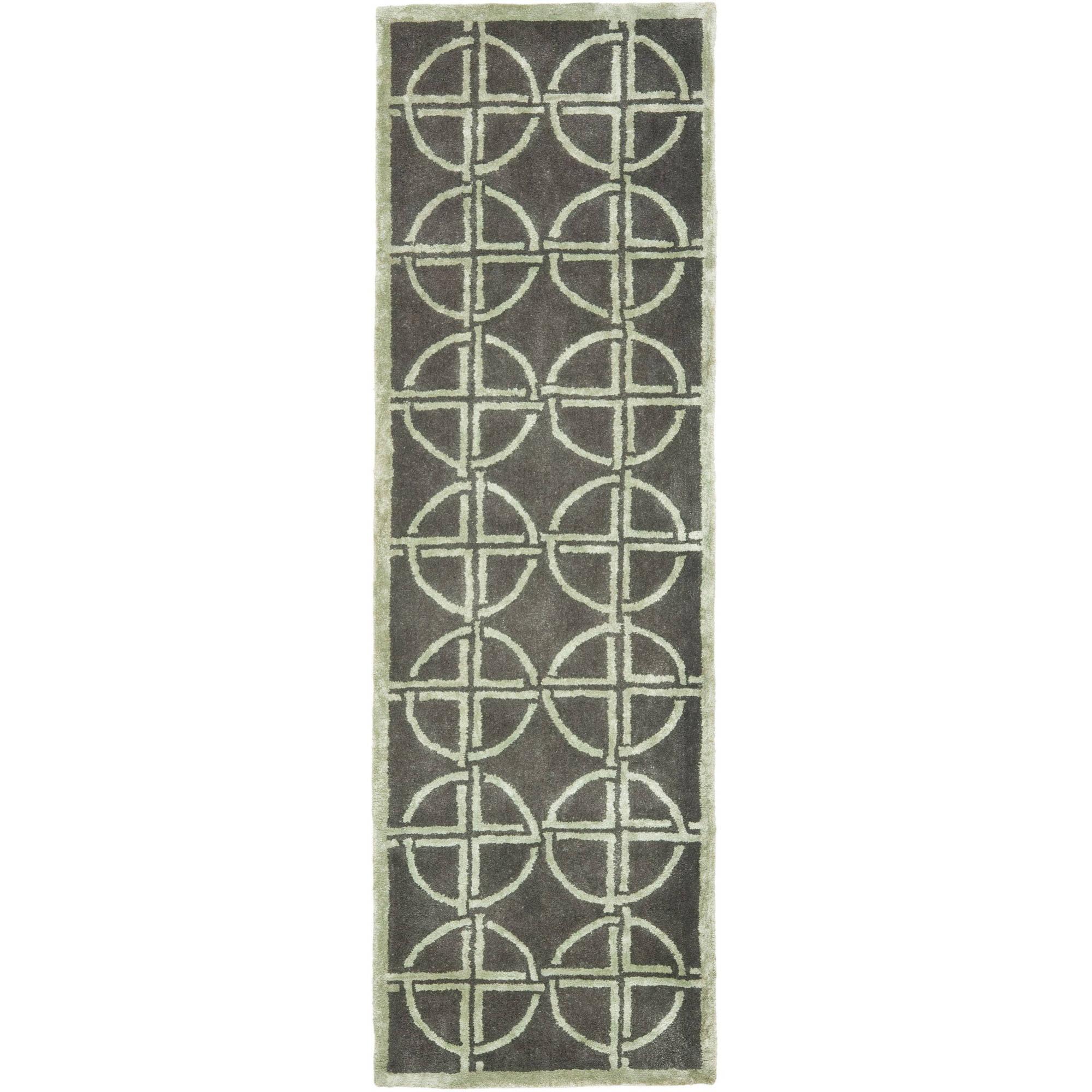 Safavieh Soho Aiken Geometric Wool Area Rug or Runner