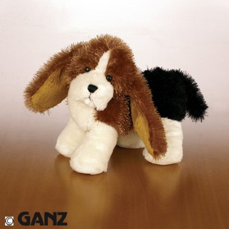 Lil'kinz Basset Hound, Virtual plush pet By Webkinz](Halloween Basset Hound)