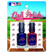 Atlanta Braves Polish Duo With Decals