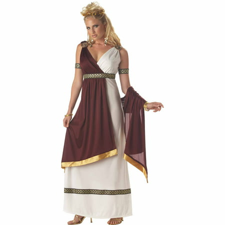 Roman Empress Adult Halloween Costume (Roman Goddess Halloween Makeup)