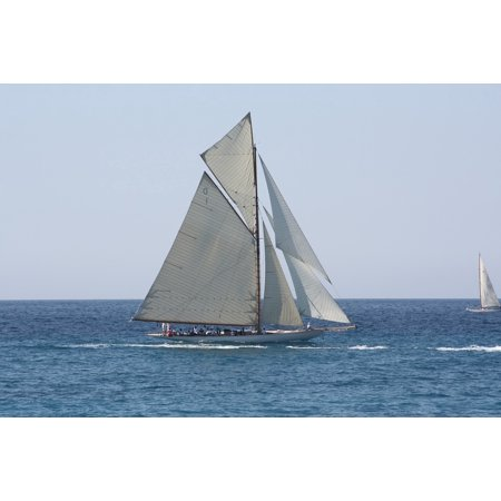 LAMINATED POSTER Sailboat Regatta Old Rig Poster Print 24 x