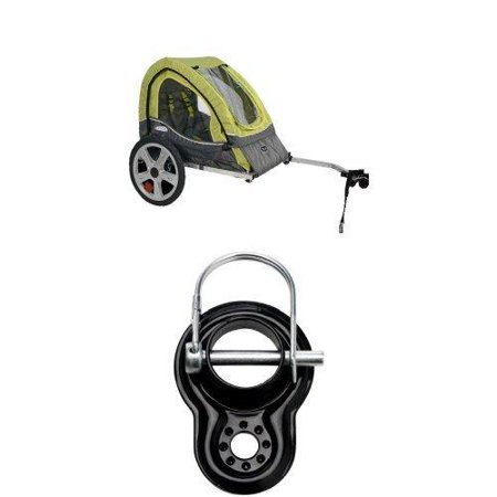 Pacific Cycle Instep Sync Single Bicycle Trailer Trailer and Coupler
