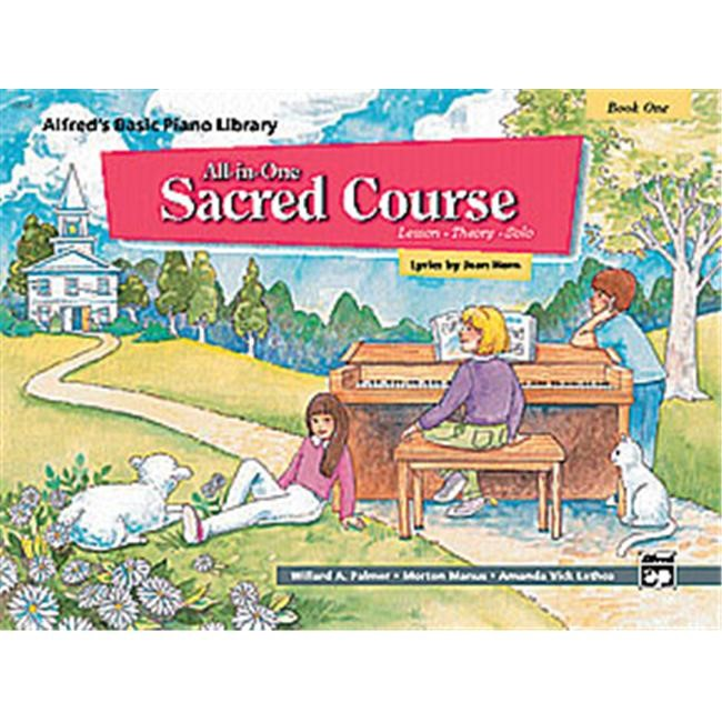 Alfred 00-14558 Basic All-in-One Sacred Course for Children- Book 1 - Music Book