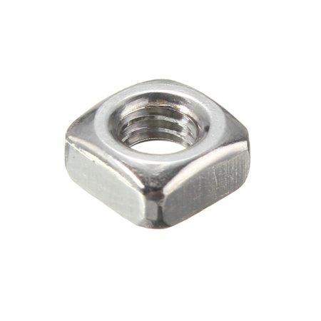 Metric Thread 304 Stainless Steel Square Nut Fastener Nut Screw Nut - image 1 of 5