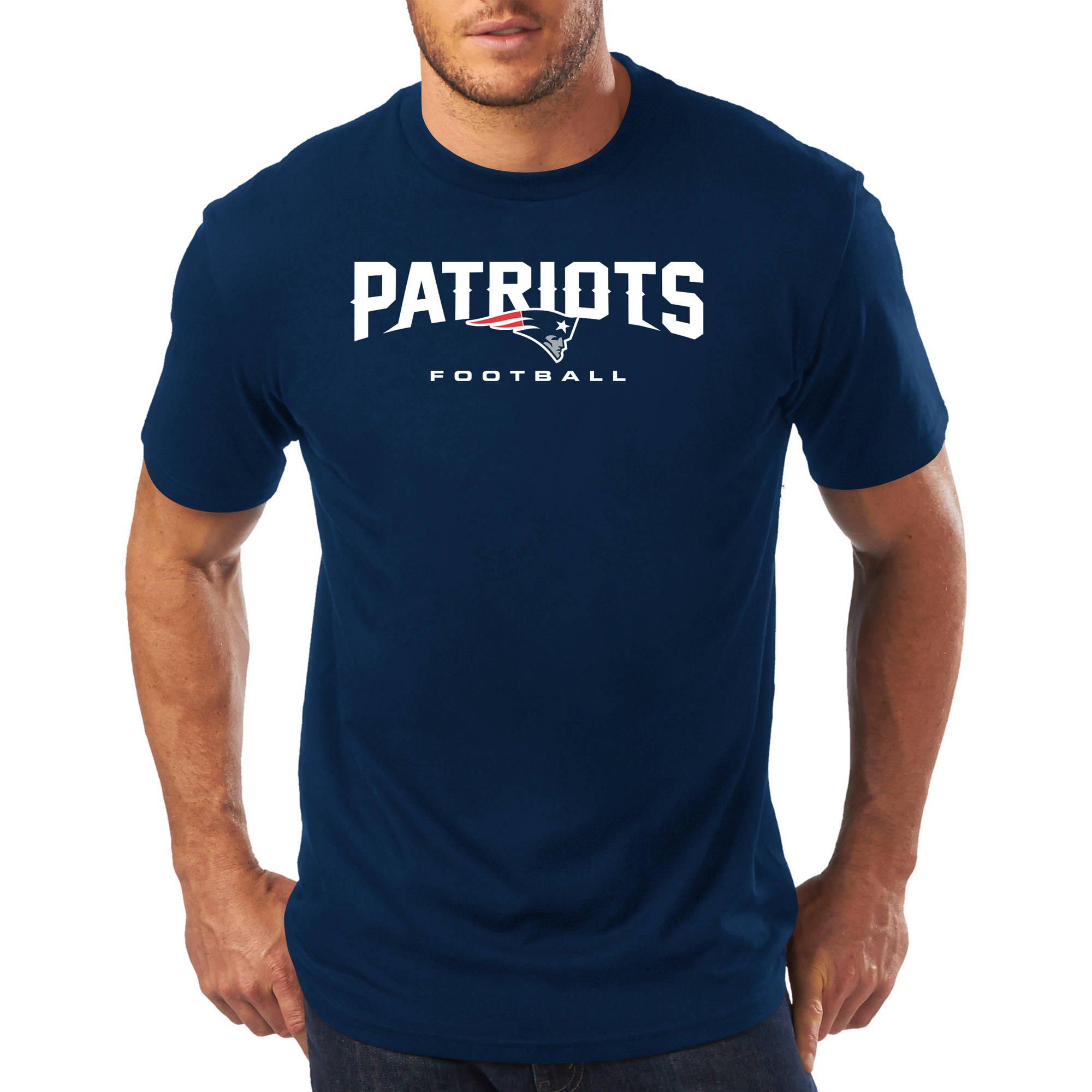 Big Men's NFL New England Patriots Short Sleeve Tee