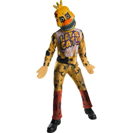 Five Nights At Freddys Childrens Chica Costume - Costumes At Walmart