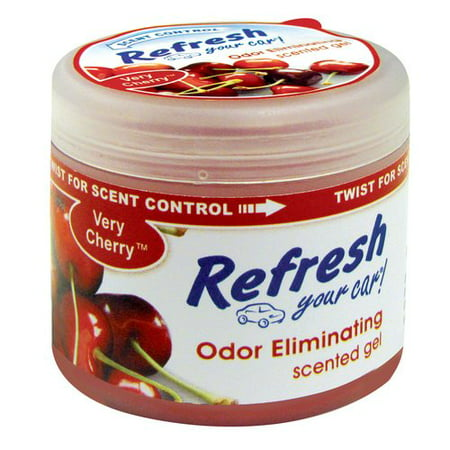 Refresh Your Car Gel Can  Very Cherry  4 5Oz