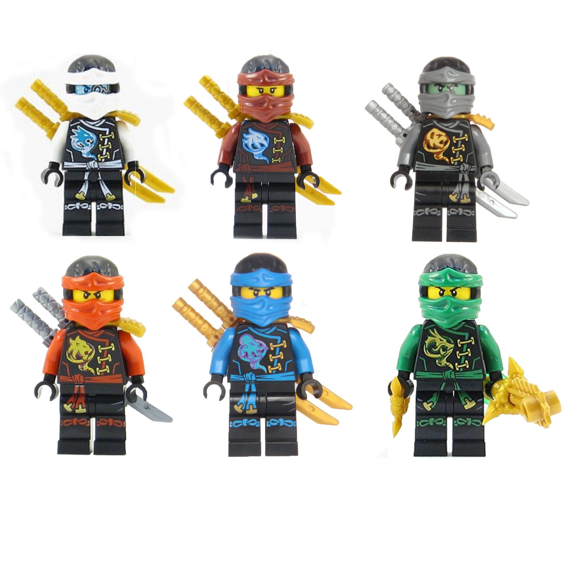 LEGO Ninjago Set of 6 Skybound