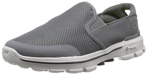 Skechers Performance Men's Go Walk 3 Charge Walking Shoe,Charcoal,9.5 M