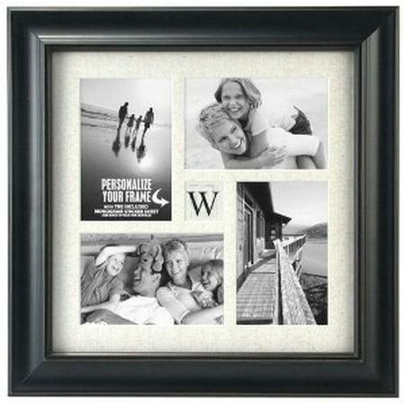 Malden Barnside Black Initial Frame - Walmart.com