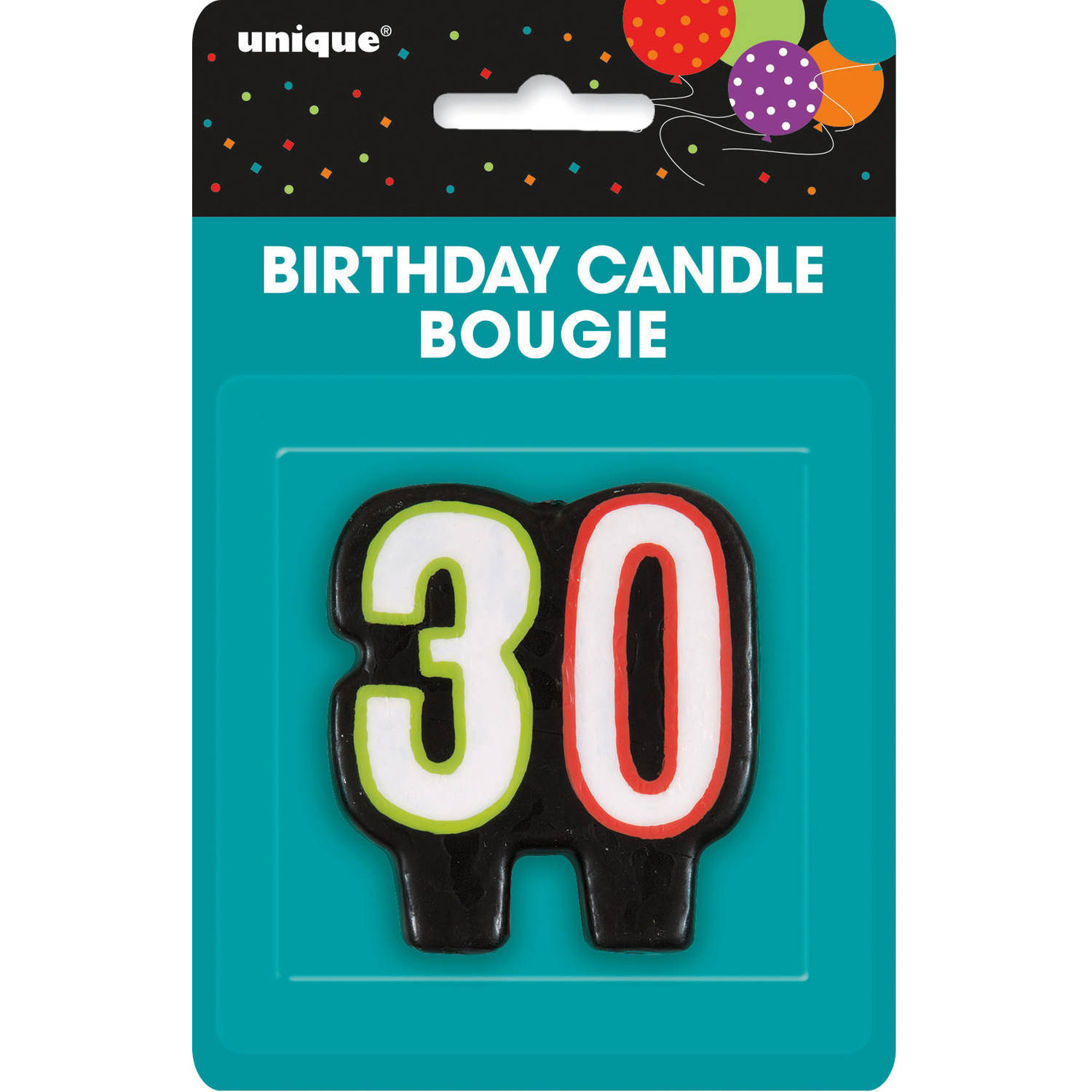 Birthday Cheer 30th Candle