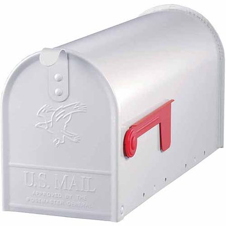 Solar Group Inc E11w White Elite Premium Steel Mailbox