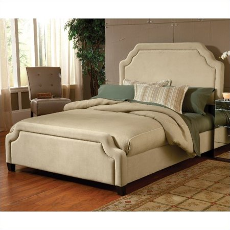 Hillsdale Carlyle Upholstered Bed In Buckwheat Queen