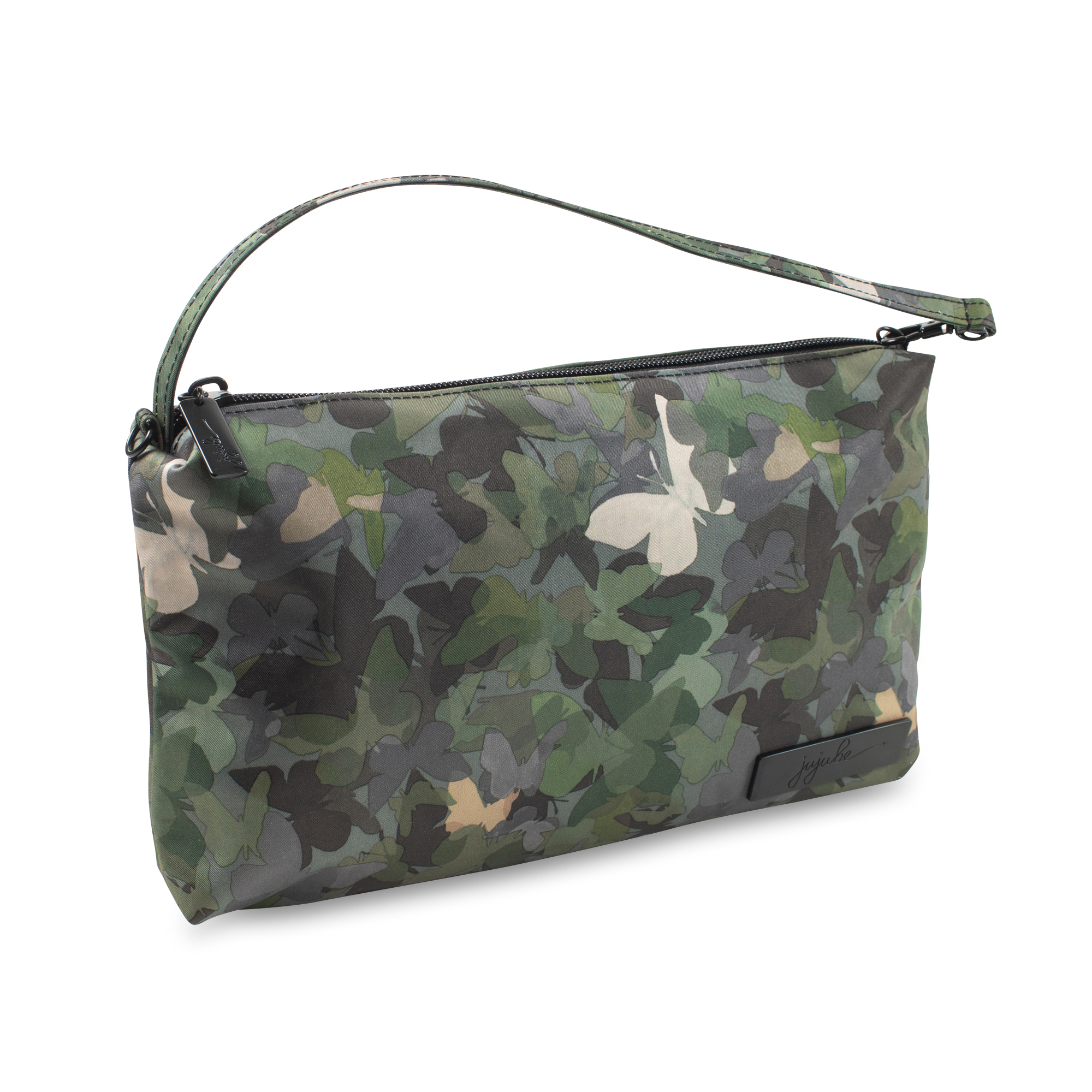 Jujube Be Quick Wristlet in Butterfly Forest